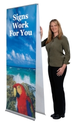 Flexi Banner Stand - Double Sided