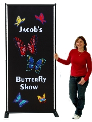 Butterfly Adjustable Poster Stand