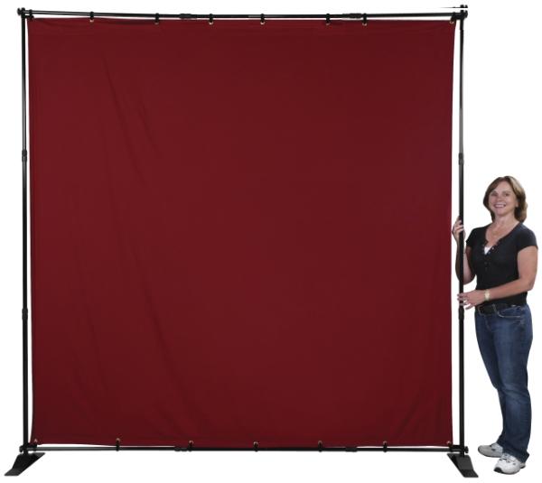 Adjustomatic Banner Stand
