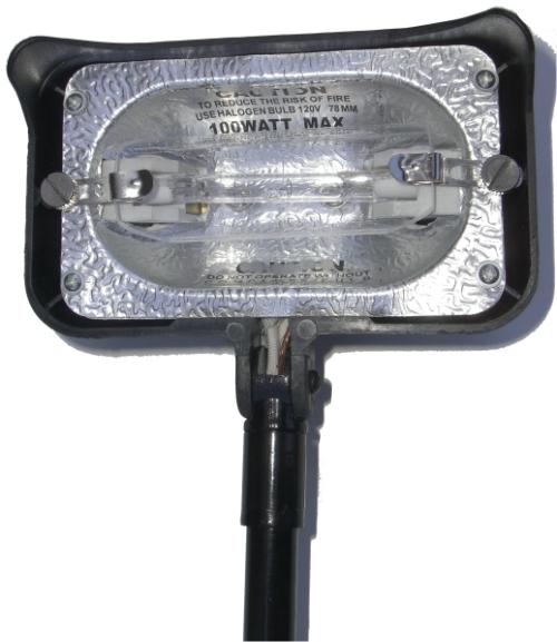 Halogen Clamp Lamp