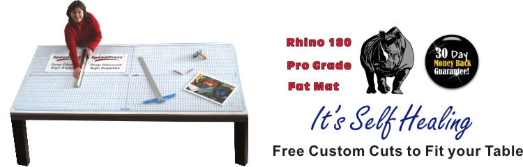 Rhino Cutting Mats by SpeedPress® Sign Suplies